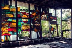 (franconiangirl) Tags: socialrealism sovietunion verlassen ehemalig decay derelict abandoned pripyat cafépripyat pripjat chernobyl tschornobyl tschernobyl chornobyl chernobylexclusionzone cccp udssr sowjetunion ukraine geisterstadt ghosttown