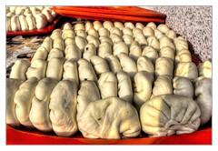 Urgut UZ - Samsa dough piece (Daniel Mennerich) Tags: silk road uzbekistan urgut history architecture hdr bazaar tandoor samsa
