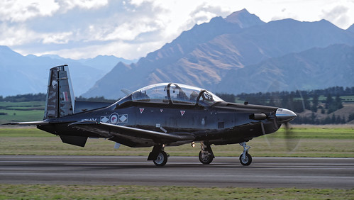 RNZAF Black Falcon's T-6 Texan II