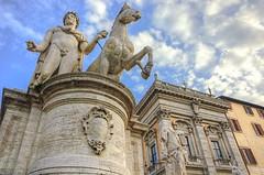 Dioscurus (Castor or Pollux) (Rome) (rickybon) Tags: rome statue ancientrome pentaxk5 pentaxflickraward pentaxart pentax k5 riccardobonelli
