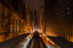 DSC_0689 (Sagahstoomeh) Tags: red trump tower chicago downtown train el elevated