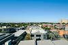 Easey View (OzGFK) Tags: australia melbourne collingwood cliftonhill easeystreet nikon d800 sigma24mmart bluesky noclouds sunny autumn city skyline cityscape landscape
