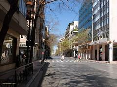 Αθήνα, έρημη πόλη (Chris Maroulakis) Tags: eastermonday athens akadimias street desert city fujix30 chris maroulakis 2018 temp23°c