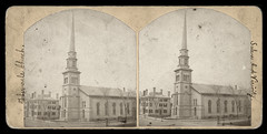 Old Tabernacle Church - 19th Century Stereoscope Photo (Brett Streutker) Tags: stars 2017 easter christ creator jesus science creation creationism made he bible scriptures rapture god yahweh jehovah born again saved evangelical gospel meeting tent psalm verse study revelation tribulation son antichrist satan devil enemy john gospels epistles conference seminary moody king james new american standard international version thus herod christmas passover brirth bethlehem jerusalem samaria apostles diciples mary joseph palastine israel israeli old time religion school antique nostalgia fundamentalist apostolic assemblies episcopal methodist lutheran