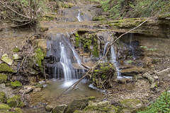 green cascade (husiphoto) Tags: bach natur nature grün green creek river cascade kaskade waterfall water landscape moos moss stone stein felsen rock outside