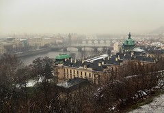 Hilltop Prague (yon_willis) Tags: praha českárepublika vltava česko 2014 strakovaakademie letenskésady europe prague czechrepublic river cityscape