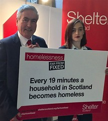 Supporting Shelter Scotland campaign