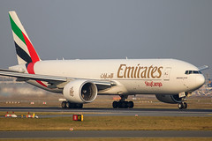 Emirates SkyCargo - Boeing 777-F1H A6-EFH @ Frankfurt Main (Shaun Grist) Tags: a6efh ek emirates skycargo boeing 777 cargo freight shaungrist fra eddf frankfurt germany airport aircraft aviation aeroplanes airline avgeek