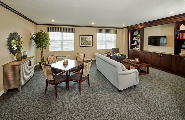 Cherrywood Pointe of Plymouth Enhanced Care Family Lounge