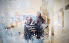 Paris, 2018 (gregorywass) Tags: people reflection window paris montparnasse february 2018 dirty galeries lafayette