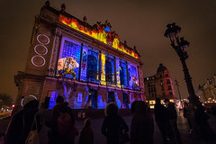 Lille Video Mapping (delcroix_romain) Tags: lille mapping video picture explore rock architecture building opera projects365 projet365 project365 nikon tokina