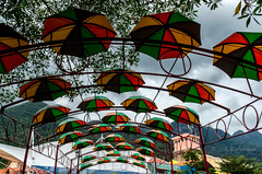 Colorful Umbrellas (Syd Rahman) Tags: asia beautifulislands dslr islandsintheandamansea malaysia nikon nikond7000 northwestmalaysia rahman syd sydrahman sydur sydurrahman vacation langkawi kedah my travel photography travelphotography traveller travelling