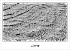 Waves (Michael J. Woerner) Tags: winter snow ice icecrust shadow contrast structure texture structures icy cold frost storm snowdrift