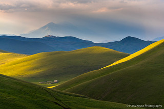 Campo Imperatore in the light