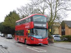 The Newer Gemini (londonbusexplorer) Tags: arriva london volvo b5lh wrightbus gemini 3 hv412 lf18awa 468 south croydon elephant castle tfl buses