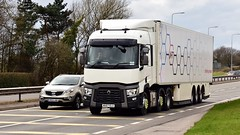 MX67 ELU (Martin's Online Photography) Tags: renault series truck wagon lorry vehicle freight haulage commercial transport a580 leigh lancashire nikon nikond7200