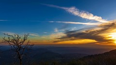Palomar Mountain Sunset Timelapse (slworking2) Tags: sandiego california palomar sunset sky clouds timelapse mountain view vista weather