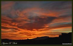 Tramonto di Aprile - 2018 (agostinodascoli) Tags: tramonto sunset cianciana sicilia agostinodascoli nikon nikkor texture nature rosso cielo paesaggi landscape