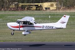 D-EEKN - 1999 build Cessna 172S Skyhawk SP, arriving on Runway 24 at Friedrichshafen during Aero 2017 (egcc) Tags: 172s 172s8308 aero aerofriedrichshafen aerofriedrichshafen2017 bodensee ce172 cessna cessna172 deekn edny fdh friedrichshafen lightroom n2431x niethammer skyhawk skyhawksp