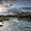 Slagachan  storm (donnnnnny) Tags: slagachan skye isleofskye scotland winter storm river burn rocks snow