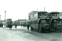 London transport Morden station circa 1936. (Ledlon89) Tags: londontransport lt lte lgoc general morden station tube underground bus buses london surrey northernline trainstation railways transport