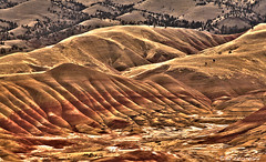 Earth Tones for Earth Day (Ed.Stockard) Tags: paintedhills johndayfossilbedsnationalmonument hdr oregon or earthtones earthday2018 mitchell spring april