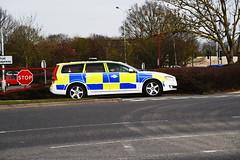 DSC_8963 Volvo (PeaTJay) Tags: nikon england uk gb royalberkshire reading winnersh british cars emergencyservices policecars police volvo