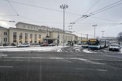 Gdynia Główna (Maciej Dusiciel) Tags: architecture architectural city urban railway rail station modern modernism socrealism poland polska gdynia europe world travel sony alpha samyang building