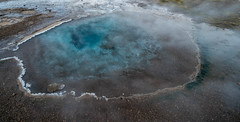 Hot Pool (RobertLyndonDavis) Tags: arctic norther pool winter a7s2 water geysir nordic a7sii rocks iceland blue waterfall river north cold travel geothermal europe sony ice reykjavík capitalregion is