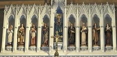 'Let us Pray' (Mary Faith.) Tags: saints church cathedral st marys sydney roman catholic building architecture australia religion holy christ mary