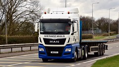 W14 OTS (Martin's Online Photography) Tags: man tgx truck wagon lorry vehicle freight haulage commercial transport a580 leigh lancashire nikon nikond7200