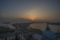 Venice sunset (y.mihov, Big Thanks for more than a million views) Tags: venice venezia europe evening europa sonyalpha sightseeing sigma skyes sea sunset sun trespass travel tourist town church chapel winter water wealth wide window tower top roof holiday happines hill historical