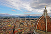 Florence from the Duomo (Alan Amati) Tags: amati alanamati europe italy italia florence fierneze duomo cathedral church cathedralsantamariadelfiore santamariadelfiore overview view city vista dome brunelleschi campanile gittoscampanile tower belltower travel cityscape giotto