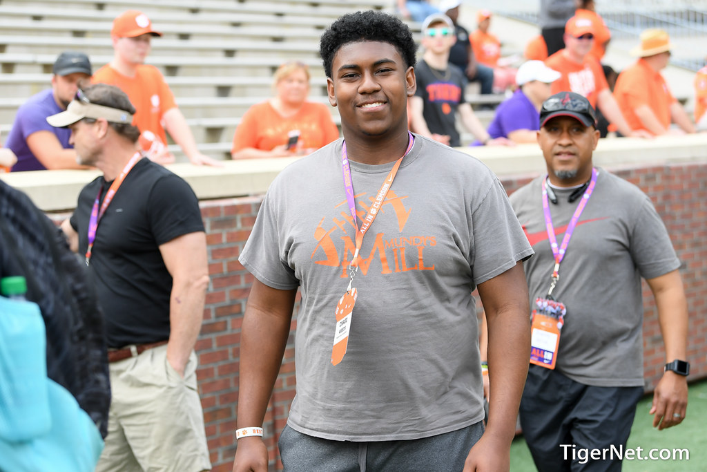 Clemson Photos: chasewesch, 2018, Recruiting, springgame