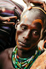 makeup (rick.onorato) Tags: africa ethiopia omo valley tribes tribal face paint ceremony