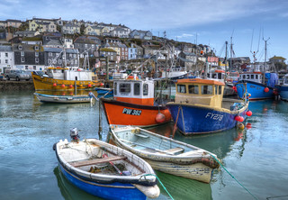 Mevagissey harbour, Cornwall (Explored)