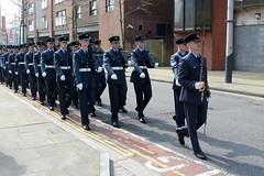 RAF 100th Anniversary Parade held in Swansea (3 of 7) (goweravig) Tags: raf personnel anniversary march parade freedomofthecity swansea wales uk princessway 100th