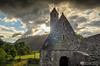 Saint Kevin' s Church Glendalough (mythicalireland) Tags: church monastery monastic site city glendalough saint kevin county wicklow histori heritage opw sunset setting sun clouds sky evening landscape nikon
