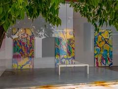Reflections 2 (Bob Hetherington) Tags: malaga spain andalusia museo jorge rando art reflections iphonex iphonephotography colour museojorgerandomalagaart málaga andalucía es