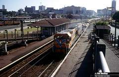 3383 N1881 DA1572 Claisebrook 29 December 1982 (RailWA) Tags: railwa philmelling westrail 1982 n1881 da1572 claisebrook