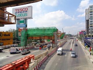 marching towards bangkok