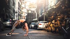 (dimitryroulland) Tags: natural light urban street city bangkok asia travel trip yoga yogi dance dancer performer art artist fit sport dimitryroulland nikon d600 85mm 18 bridge