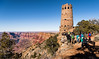 Worth the Visit (Ron Drew) Tags: nikon d850 grandcanyonnationalpark grandcanyon nationalpark arizona usa winter cliff park trees watchtower marycolter pueblo usnationalregisterofhistoricplaces historic visitors tourists canyon desert coloradoriver river erosion rocks overlook desertviewoverlook painteddesert