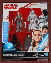 "Hasbro - ""Battle on Crait"" 4-Pack (Darth Ray) Tags: hasbro starwars thelastjedi forcelink battleoncrait star wars the last jedi force link battle crait rey craitdefense firstorderwalkerdriver firstordergunner rose defense first order walker driver gunner"