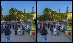 Art market 3-D / CrossView / Stereoscopy / HDR / Raw (Stereotron) Tags: berlin spreeathen mitte metropole hauptstadt capital metropolis brandenburg city streetphotography urban citylife flohmarkt fleamarket jumble art sale crosseye crosseyed crossview xview cross eye pair freeview sidebyside sbs kreuzblick 3d 3dphoto 3dstereo 3rddimension spatial stereo stereo3d stereophoto stereophotography stereoscopic stereoscopy stereotron threedimensional stereoview stereophotomaker stereophotograph 3dpicture 3dglasses 3dimage twin canon eos 550d yongnuo radio transmitter remote control synchron kitlens 1855mm tonemapping hdr hdri raw