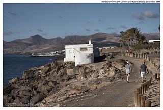 Between Puerto Del Carmen and Puerto Calero