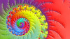 JLF1046 Vibrant Nautilus (jlfractal) Tags: mandelmachine nautilus spiral multicolour vibrant fractal fractalart julofi