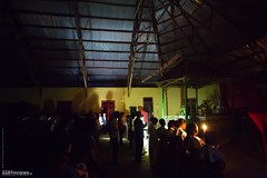 Christmas Eve in a Jungle Mountain Village (0851) (Stefan Beckhusen) Tags: church religion spirituality christmaseve prayer catholicism paci flores indonesia people night nightshot nightlights village lifestyle building architecture
