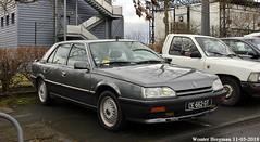 Renault 25 V6 Baccara 1991 (XBXG) Tags: ce662gt renault 25 v6 baccara 1991 renault25 r25 31ème salon champenois du véhicule de collection belles champenoises 2018 époque reims marne 51 grand est grandest champagne ardennes france frankrijk youngtimer old classic french car auto automobile voiture ancienne française vehicle outdoor