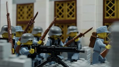 The Battle of Tai'erzhuang (Force Movies Productions) Tags: war weapons wwii world wars eastern lego helmet helmets gear legophotograghy resistance legophotography rifles rifle rebel rebels resist toy toys trooper troops troop troopers youtube unit ii officer pose conflict soldier cool movie soldiers moc photograpgh photo picture photograph photography animation army scene stopmotion film firearms guns gun history kmt kuomintang custom china chinese chaing bricks brickfilm brickarms brickizimo brick brickmania nation nationalist nations minfig minifig military minifigure minifigs militia battle battlefield stalhhelm